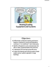 4 Heating Cooling Equipment and Systems
