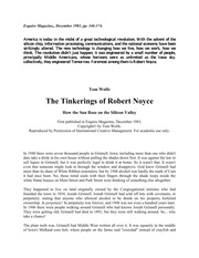 The+tinkerings+of+Robert+Noyce