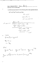 math244 winter05 quiz5 solution