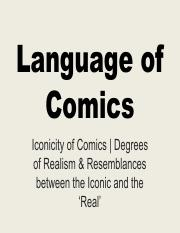 LECTURE 1 Graphic Novel