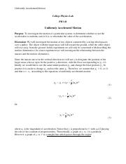 Lab Uniformly Accelerated Motion.pdf
