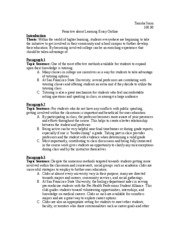 Human Trafficking Research Outline