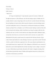 literary analysis paragraph