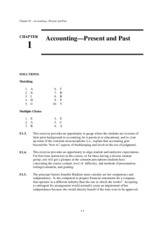 Solutions Manual Accounting What the numbers mean