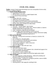 CTCS 190 Final Notes