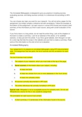 annotated bibliography_directions
