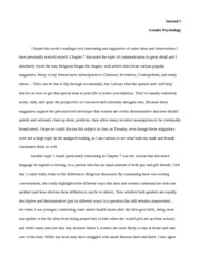 Gender Psych- Journal 5