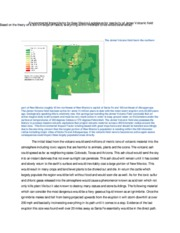 Environmental Impact factor for New Mexico Legislature for reactivity of Jemez Volcanic field