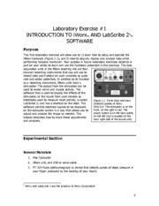Lab 1 Introduction to iWorx and LabScribe 2(2)