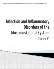 Ch 39 Musculoskeletal infection and inflammation (2).pptx