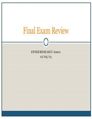 Exam 3 Review-2