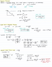 Lecture 9  Polytropic Processes, Real Gas, Review