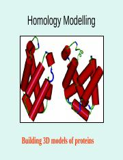 5.Homology Modeling.ppt