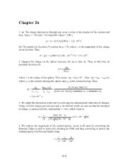 PHY2049 Chapter 26 Solutions