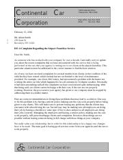 sample business letter eng 407a fundamentals of business writing unlv 9103