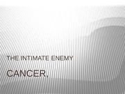 CANCER, PPT (1)