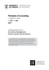Study Guide for Principles of Management Accounting