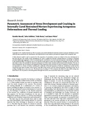 Parametric Assessment of Stress Development and Cracking in.pdf