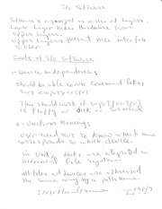 CPS 511 Goals of IO Software Notes