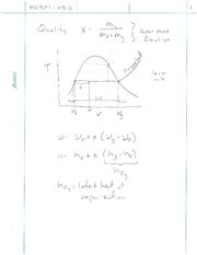 Vapor Mass Problem Solving Notes