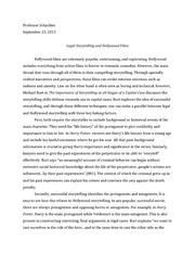 Legal Storytelling Essay