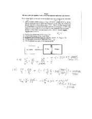 old Exam 3 solutions