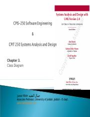 CPIS-250 Chapter3 UML Class Diagram