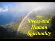 chapter7 Spirituality Not interested in teaching