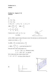 chapter 17 and 18 solutions