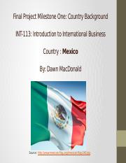Final Project Milestone One Mexico.pptx