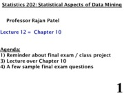 Stats 202 - Lecture 12