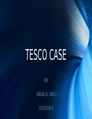 TESCO CASE