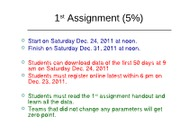2-2011=1st assignment