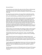 108 24 Plot Point Example pdf - BUILDING A PROPER OUTLINE MID TERM
