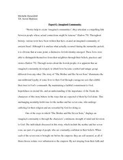 Paper#1- Imagined Community