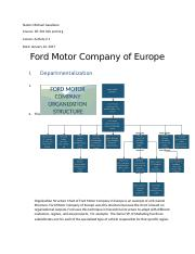 ford motor company cost structure The ford motor company is the fifth largest automaker by sales in the world in the united states, it sells ford and lincoln brand vehicles, having recently closed down or divested itself of several makes including lincoln, volvo, jaguar and land rover.