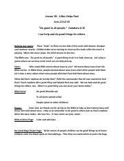 Lesson 38 A Boy Helps Paul.docx