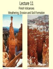 Lecture 11_ F 2014_ (volcanoes cont'd) weathering.ppt