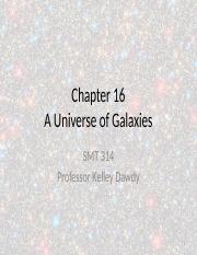 Chapter 16 - A Universe of Galaxies.pptx