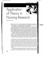 Application of Theory in Nursing Research.pdf