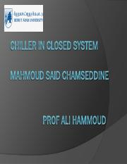 Chiller in closed system example chamesideien.pdf