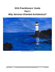 Soa practitioners' guide part 1 why services-oriented.