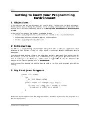 Chapter 03-Getting to know your Programming Environment.doc