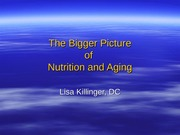 nutrition bigger picture