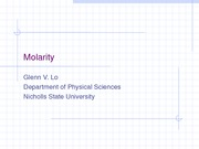 304molarity