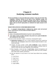 EA316_CLASS NOTES_ch_6_Analyzing customer markets