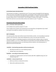 Accounting I 1260 Final Exam Outline.docx