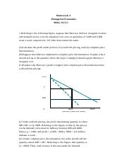 IMBA Managerial Economics Homework 4_Answer