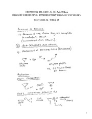 CHEM 281 2011-3 Lecture Notes 36 - WEEK 13