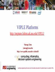 Built-It Workshop L6 - VIPLE Platforms